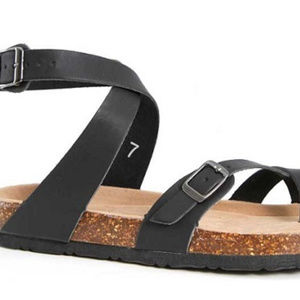 Shoes - Outwoods Bork Ankle Strap Toe Loop Sandals